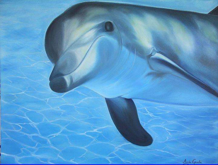 Delfin - Megon Art