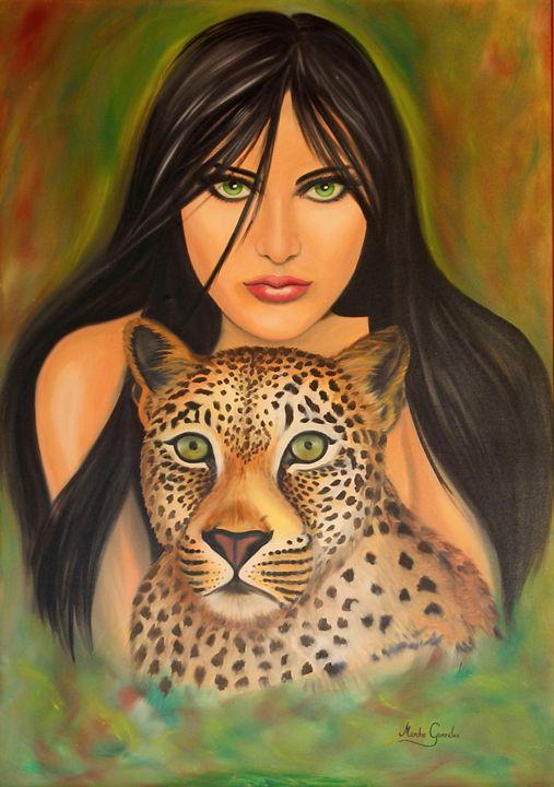 Mujer salvaje - Megon Art