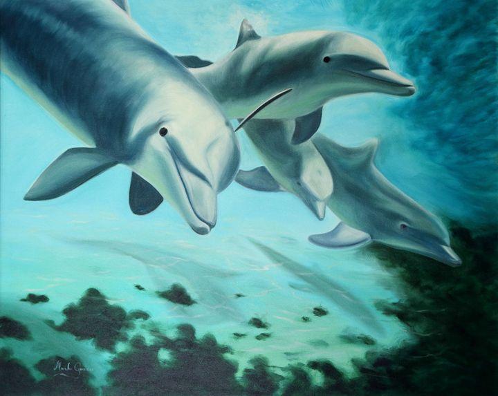 Delfines - Megon Art