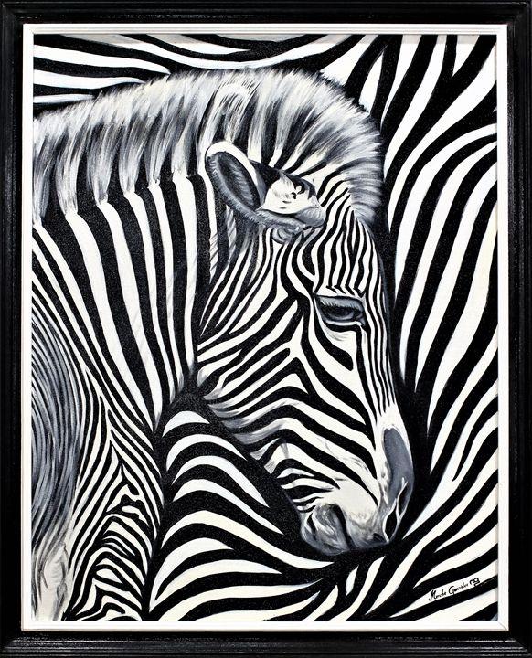 Zebra - Megon Art