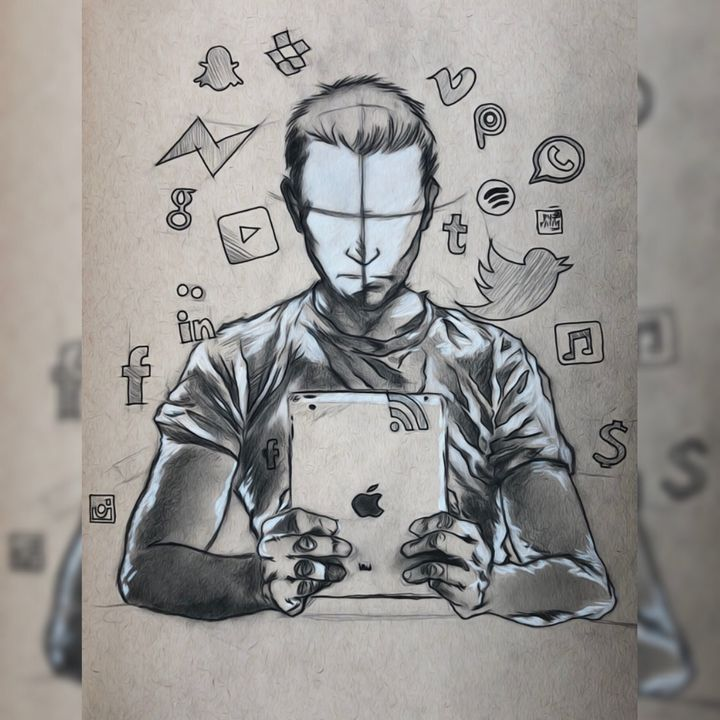 Social media addiction... - PYArt