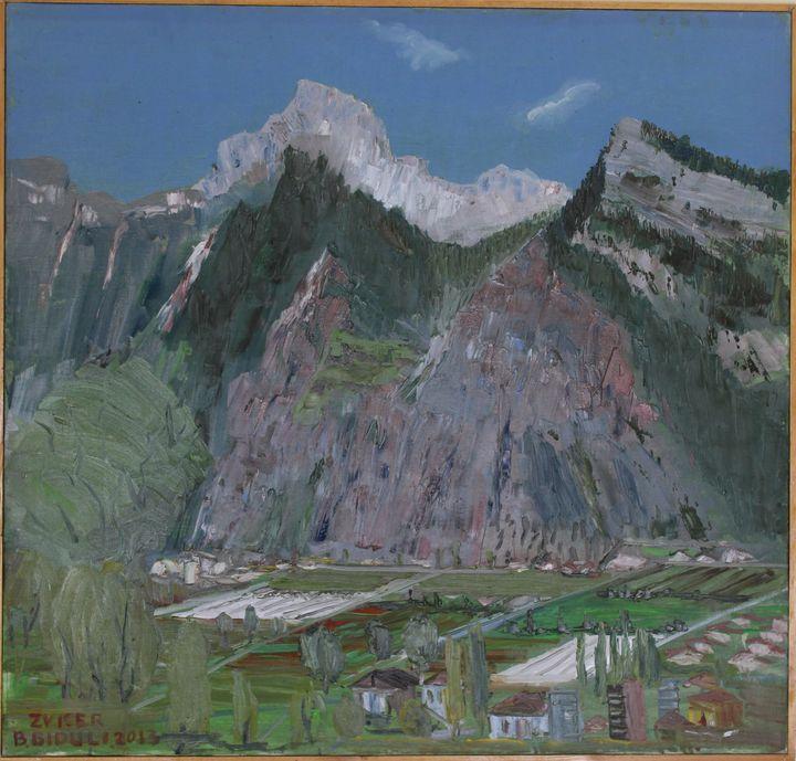 Peisazh nga Zvicra - biduli