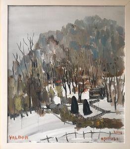 Dimër në Valbonë