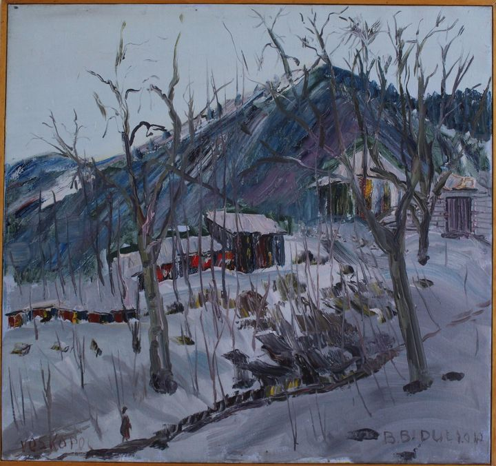 Dimër në Voskopojë - biduli