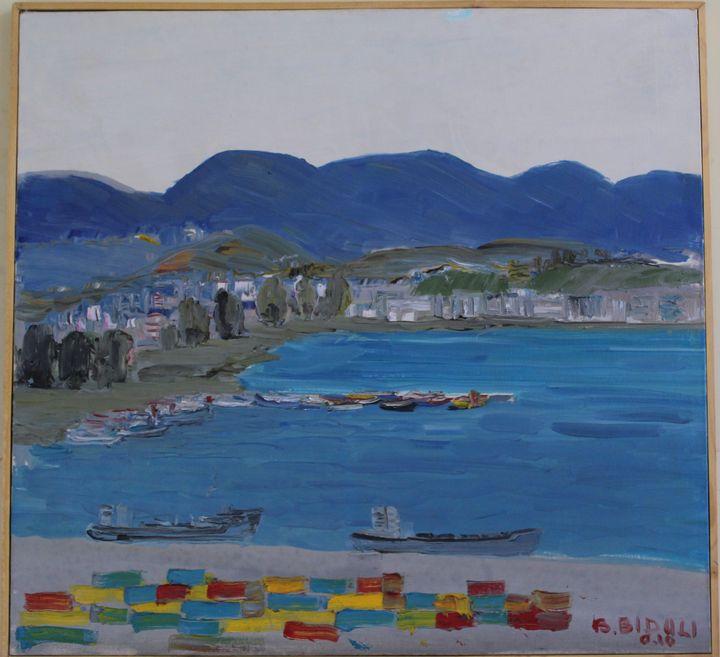 Peisazh në Durrës - biduli
