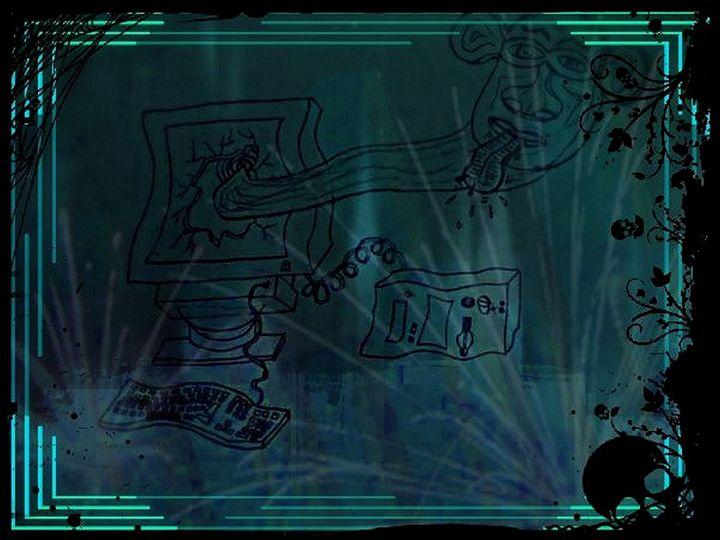 Geekinhood Virus - Medallion Art