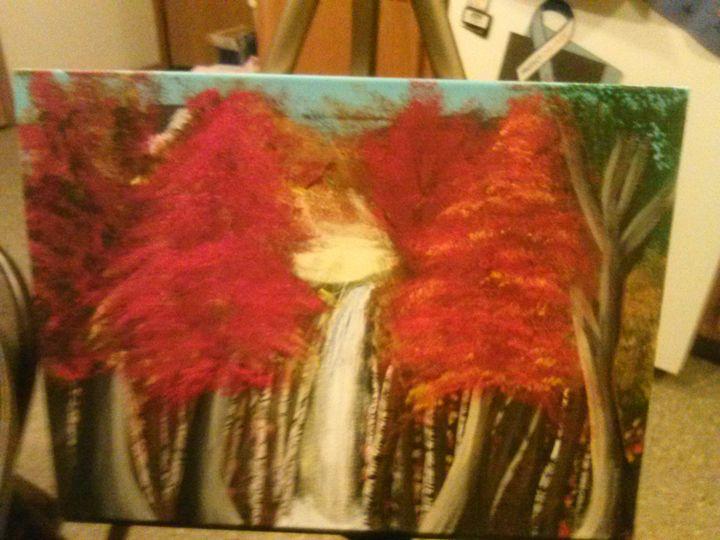 Autum Forest - Amys Art