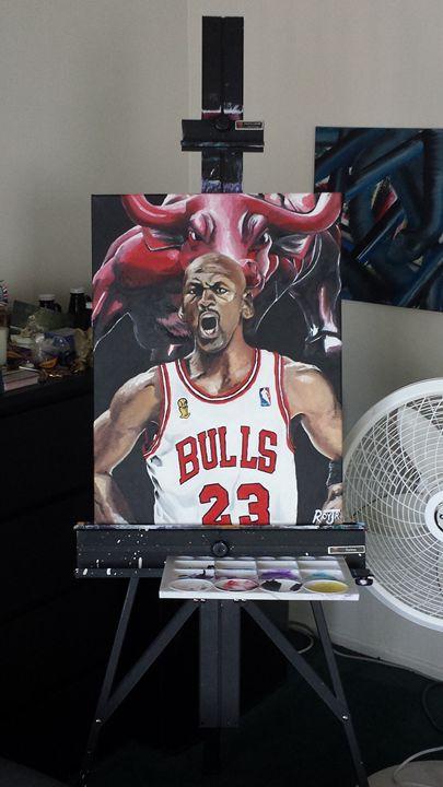 Classic Michael Jordan - Dave Roy Jr.