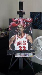 Classic Michael Jordan