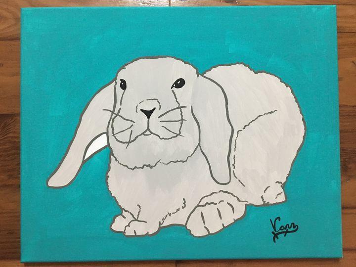 Rabbit - ArtFusion Boutique Pet Portraits