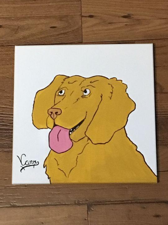 Lab puppy - ArtFusion Boutique Pet Portraits