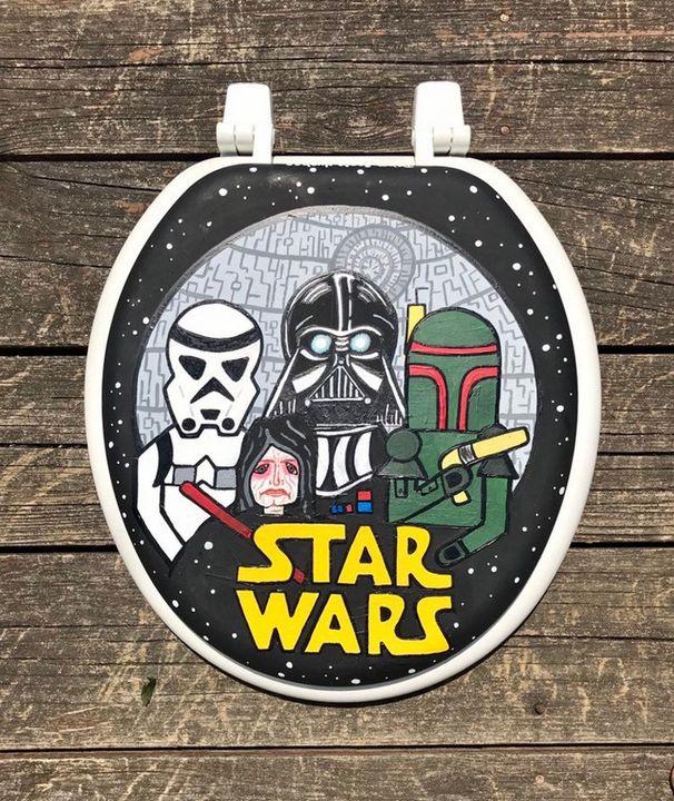 Star Wars Toilet Seat - Debbie Is Adopted