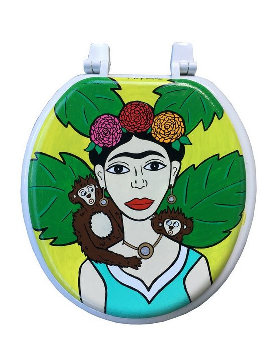Frida Toilet Seat - Debbie Is Adopted