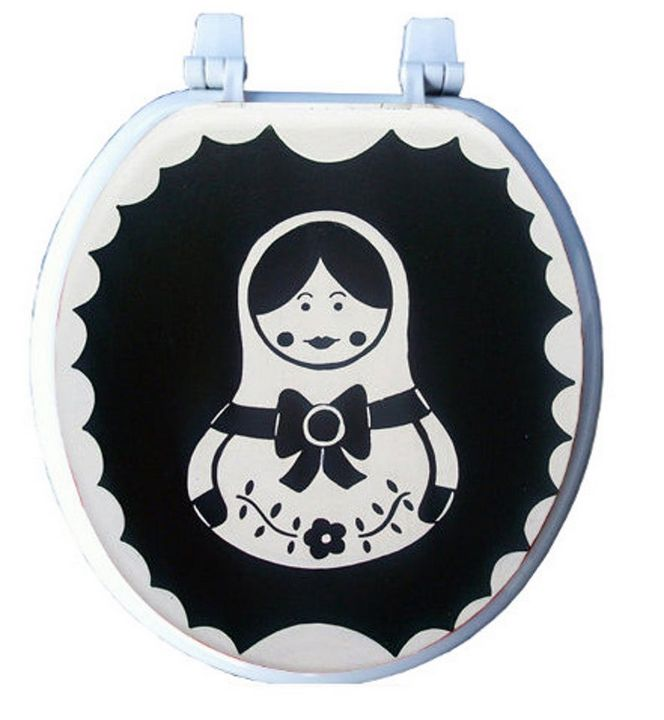 Russian Nesting Doll Toilet Seat - Debbie Is Adopted