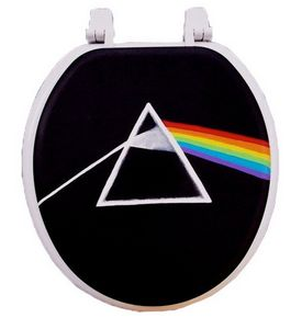 Pink Floyd Toilet Seat