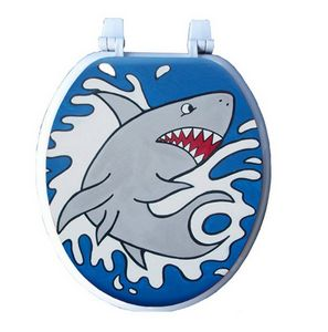 Shark Attack Toilet Seat