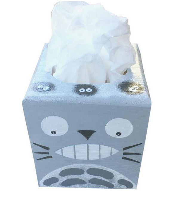 Totoro Tissue Box - Debbie Is Adopted