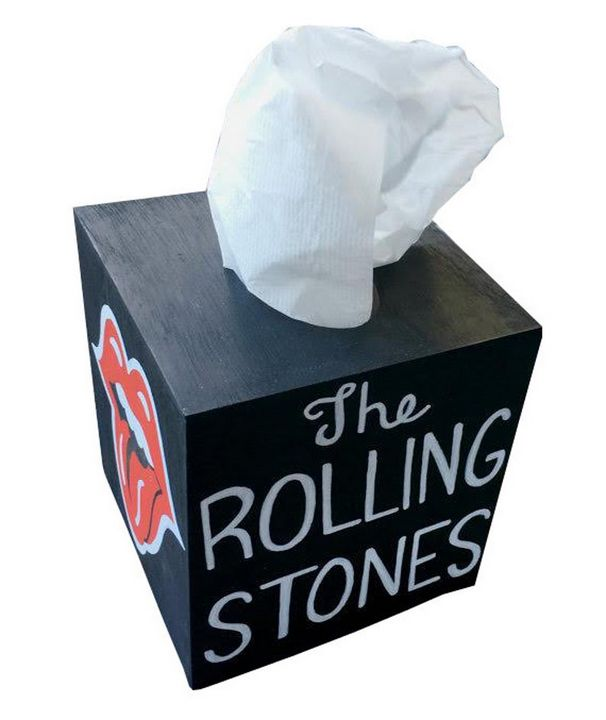 Rolling Stones Tissue Box - Debbie Is Adopted