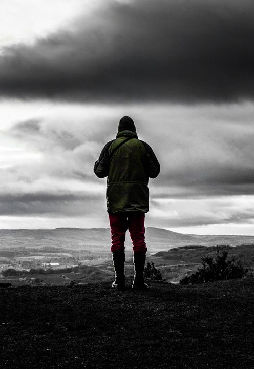 Man on top of Hill - Sunil Bhandari