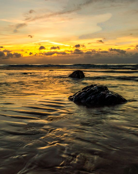 Seascape Sunrise - Sunil Bhandari