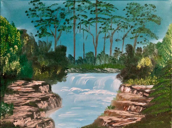 Day at the falls - Zane kurtz
