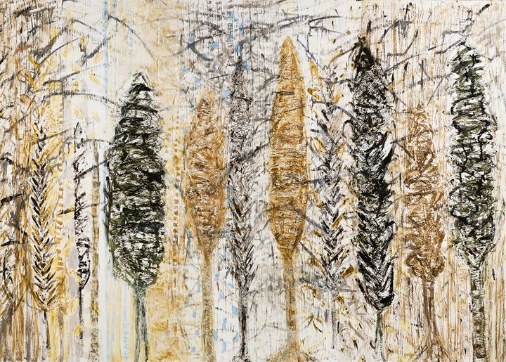 Trees in winter - Sharon Papay's Art
