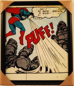 Superman Puff by Warhol
