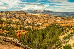 Overlooking Bryce Canyon Valley