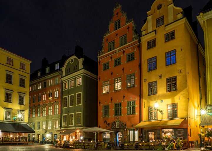 Gamla Stan Old Town Square - Joie Cameron-Brown Photography