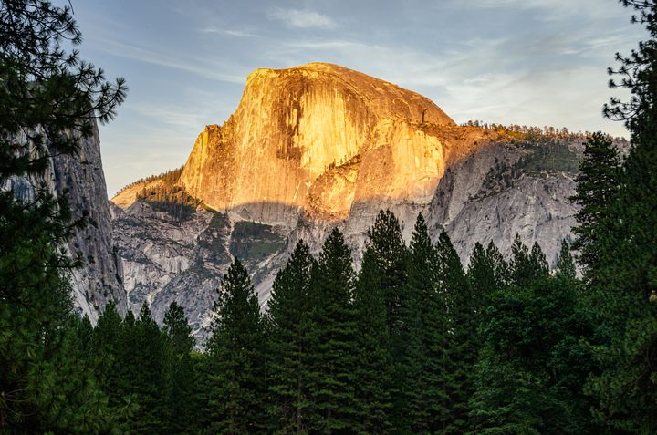 Half Dome At Sunset - Joie Cameron-Brown Photography