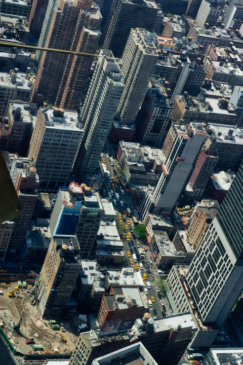 Birds Eye View Of New York City - Joie Cameron-Brown Photography