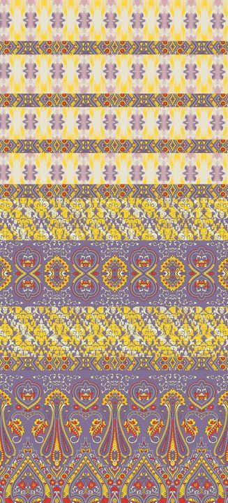 border deign paisley - subhash designs