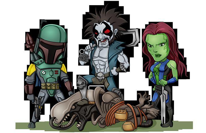 Alien Hunters - masciajames