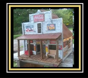 Old Country Store - Miniatures By Philip Crews