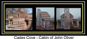 The John Oliver Cabin at Cades Cove,