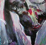 Original painting, study of girl, lo