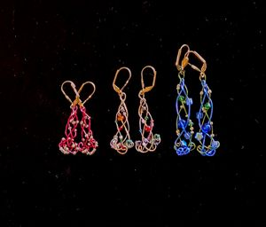 Custom Earrings by Length/Color