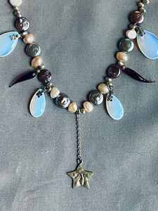 The Moon and the Sea Necklace