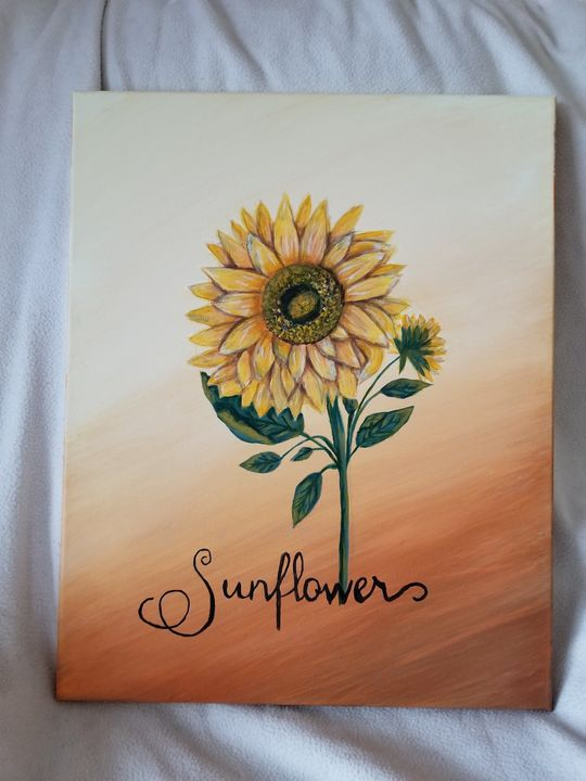 Simple Sunflower - My Heart 2 Yours