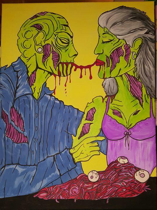 Zombie Love - Healthnhealingart