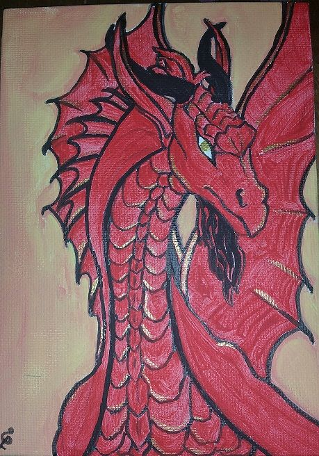 into the Red Dragon - Healthnhealingart
