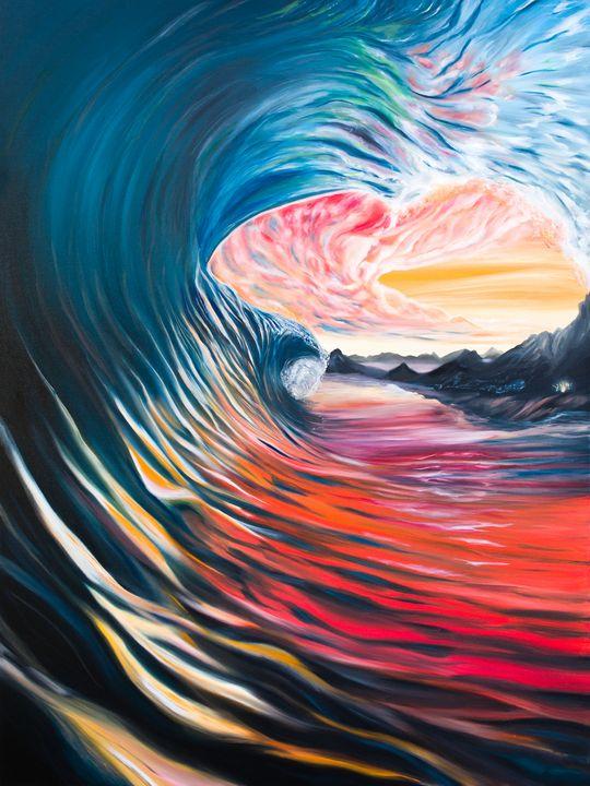 """""""Last One Out"""" - Jeff Lukasik Fine Art"""