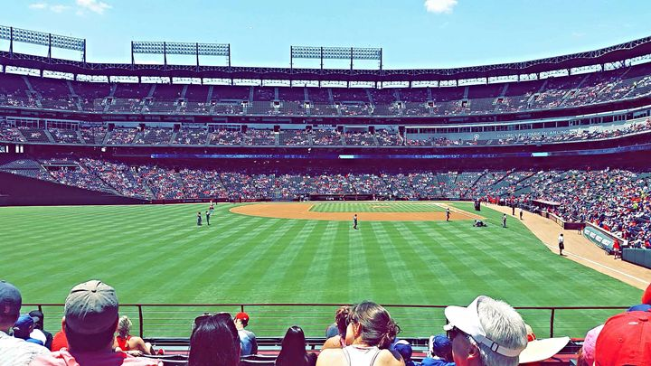 Texas Rangers - pace photography