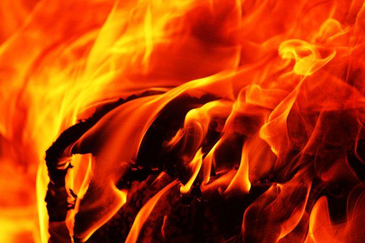 Flames - MBenton Studios