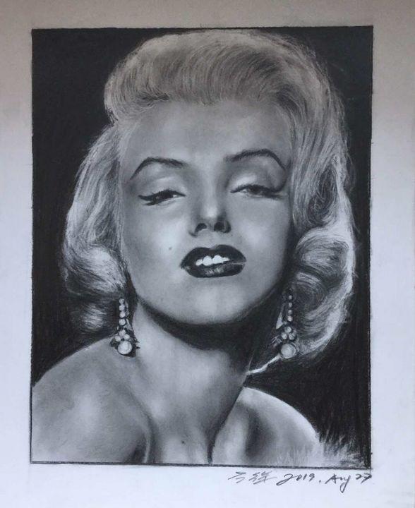 Portrait of Marilyn Monroe - Ying's art shop
