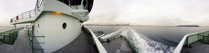Seattle Ferry - DeGrand Photography