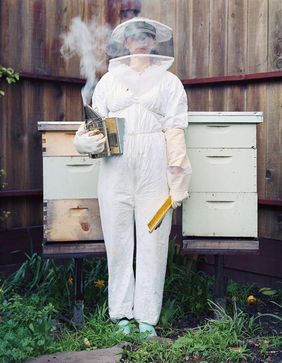 Ascha, Beekeeper, Oakland, CA - DeGrand Photography
