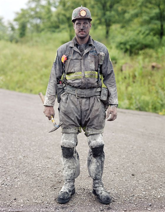 Jeremy, Coal Miner, Blacklick, PA - DeGrand Photography