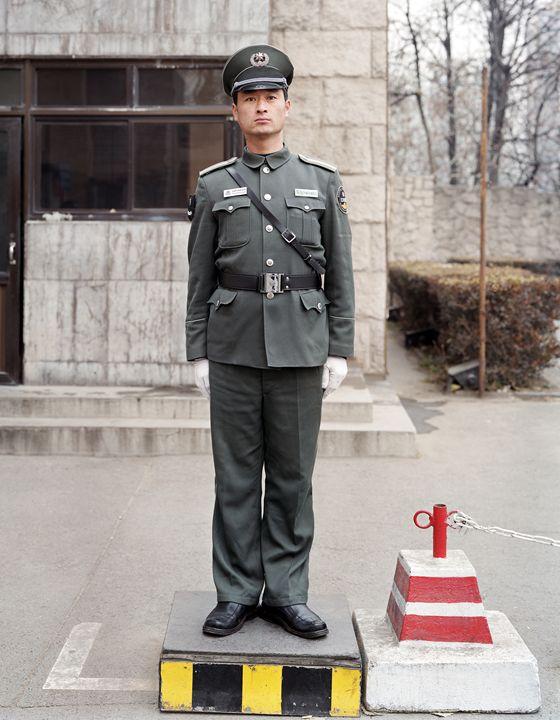 Wang, Renmin U Guard, Beijing, China - DeGrand Photography