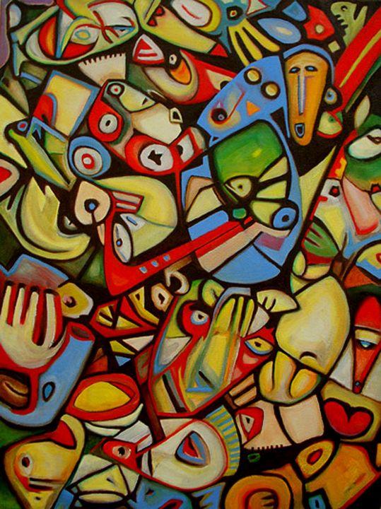 Flute Fish - Ron Barlow